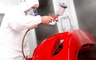 Технология покраски пластиковых бамперов