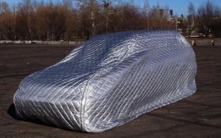 Мобильный гараж для автомобиля