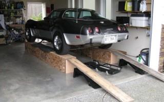 Эстакада для ремонта авто своими руками