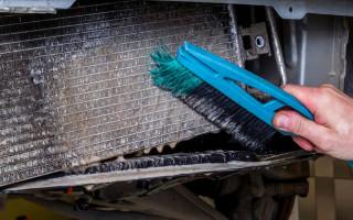 Очистка радиатора охлаждения двигателя