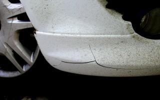 Трещина в бампере ремонт