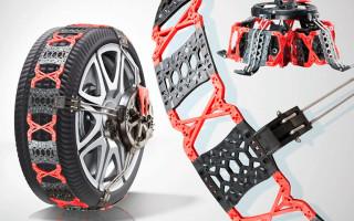 Противобуксовочные цепи на колеса