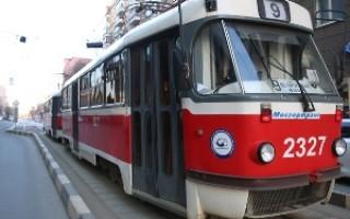 Права на трамвай категория