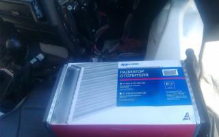 Ваз 2115 как снять радиатор отопителя