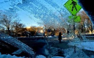 Замерзшее стекло