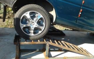 Эстакада для ремонта автомобиля своими руками