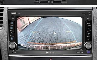 Монитор с камерой заднего вида для автомобиля