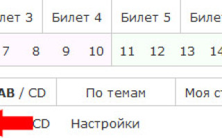 Экзамен пдд на категорию с