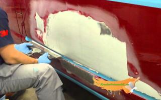 Как покрасить машину самому в домашних условиях