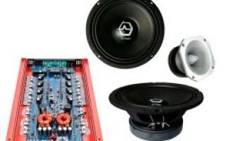 Аудио акустика в машину