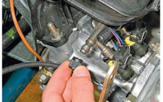 Регулятор давления топлива калина как проверить