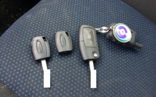 Перепрошить ключ от машины