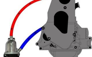 Подогреватель двигателя котел