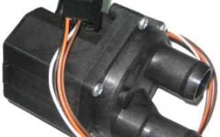 Электрический кран печки