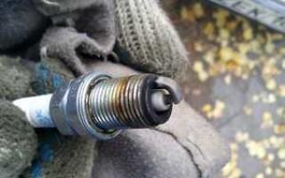 Диагностика двигателя по свечам зажигания фото