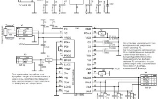 M51721sl схема подключения