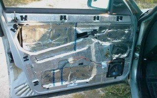 Как сделать шумоизоляцию дверей автомобиля