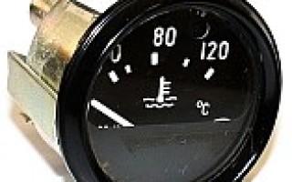 Маркировка датчика температуры охлаждающей жидкости