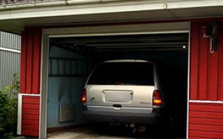 Машины в гараже