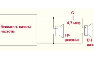 Какой конденсатор нужен на пищалки
