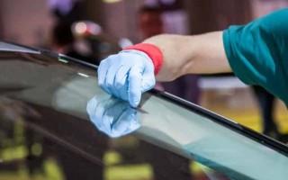 Как полировать лобовое стекло своими руками видео