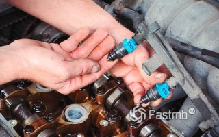 Как промыть форсунку инжектора