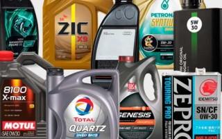 Подобрать масло для автомобиля по марке