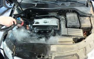 Промывка двигателя водой