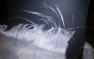 Ремонт кузова стеклотканью