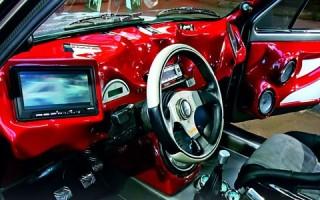 Тюнинг салона автомобиля своими руками фото