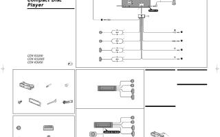 Sony cdx r3000 схема подключения