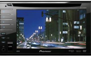 Автомагнитола dvd pioneer