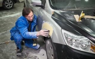 Как правильно наносить шпаклевку на автомобиль