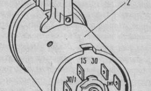 Замок зажигания ваз 2104 схема подключения проводов