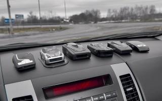 Радар в машину