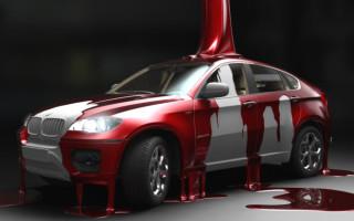 Чем покрасить машину в домашних условиях
