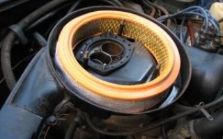 Масло в воздушном фильтре приора