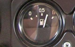 Датчик топлива газ