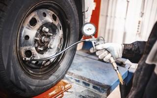 В чем измеряется давление в шинах